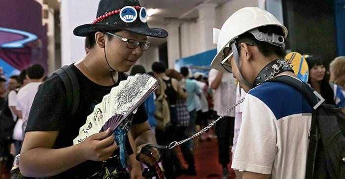 第六届中国(沈阳)动漫电玩博览会中的coser