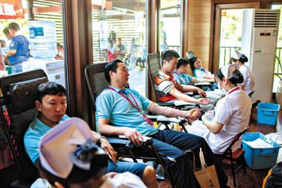 近3万北京市民无偿献血超20次 全国居首
