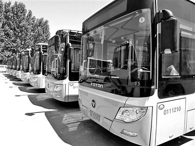 通州八方达新换200辆公交车