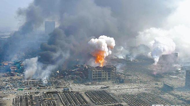 天津爆炸最全整理 现场图片,胆小勿进