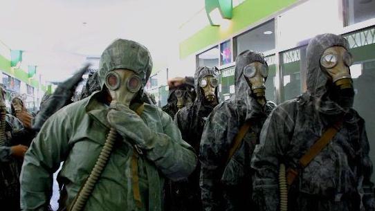 天津爆炸,一旦降雨将产生剧毒