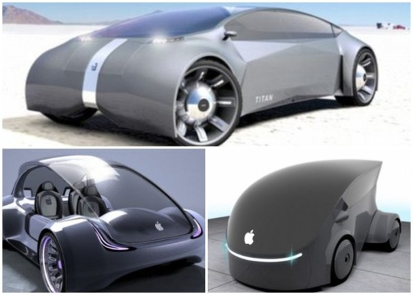 苹果研制无人车